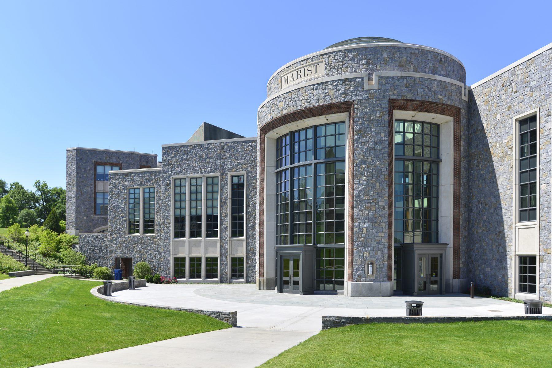 marist college circular stone building