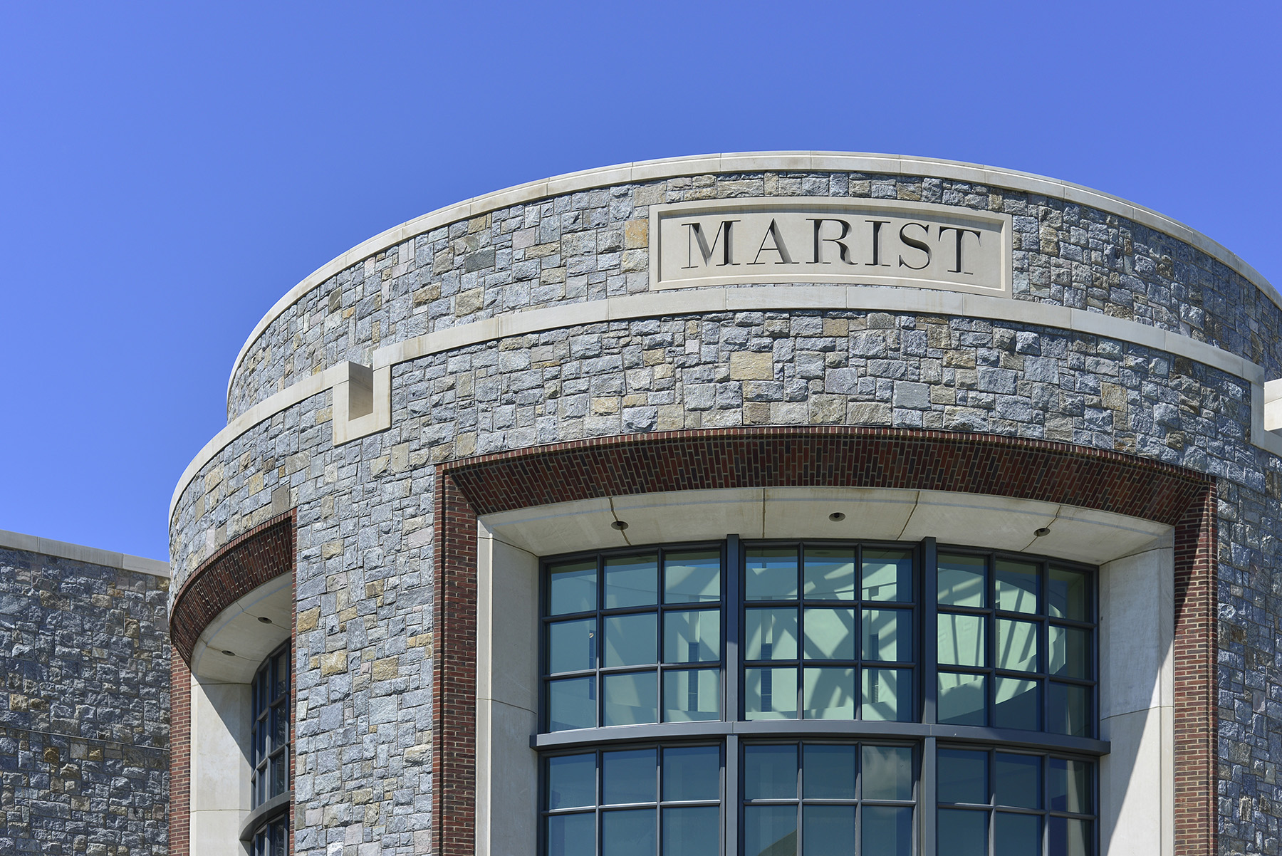 marist engraved in stone