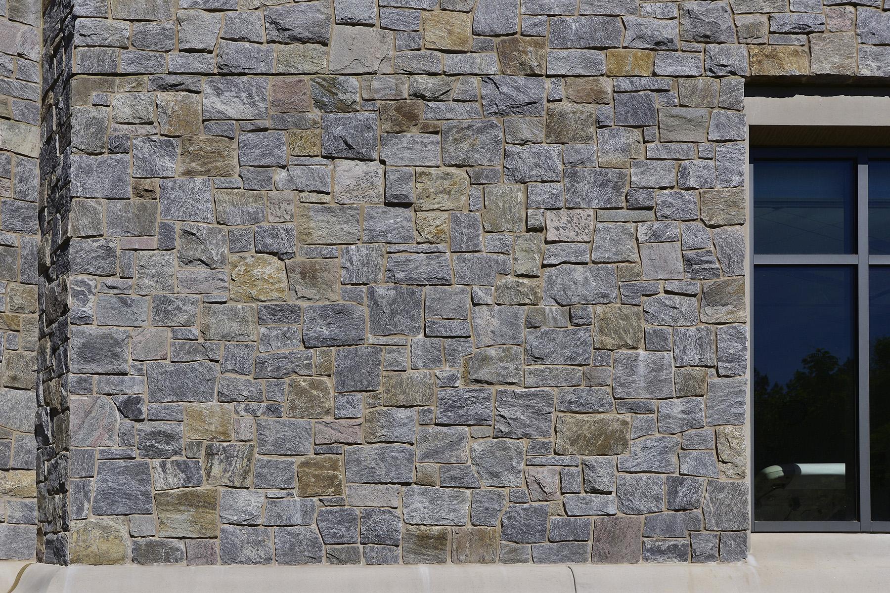 stone wall exterior