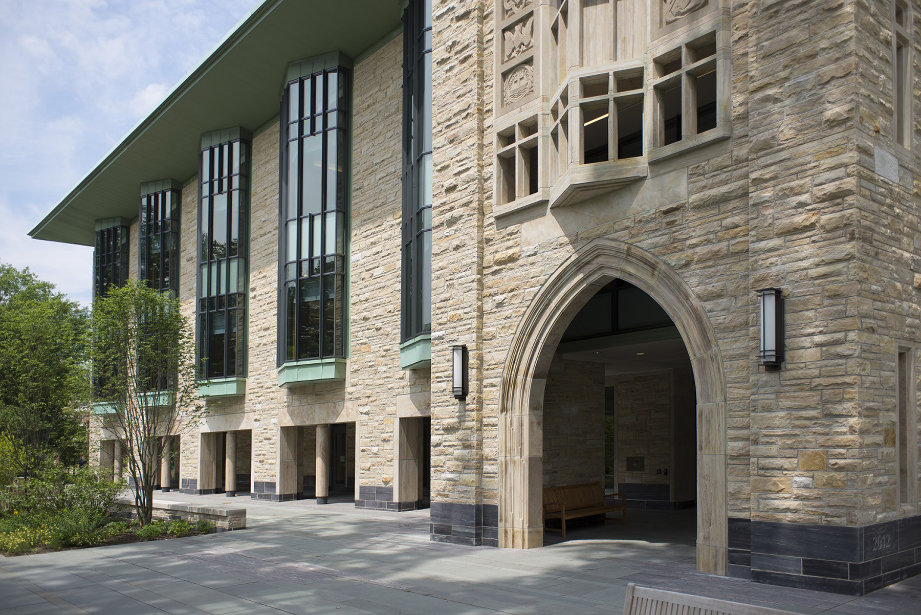 princeton building entrance