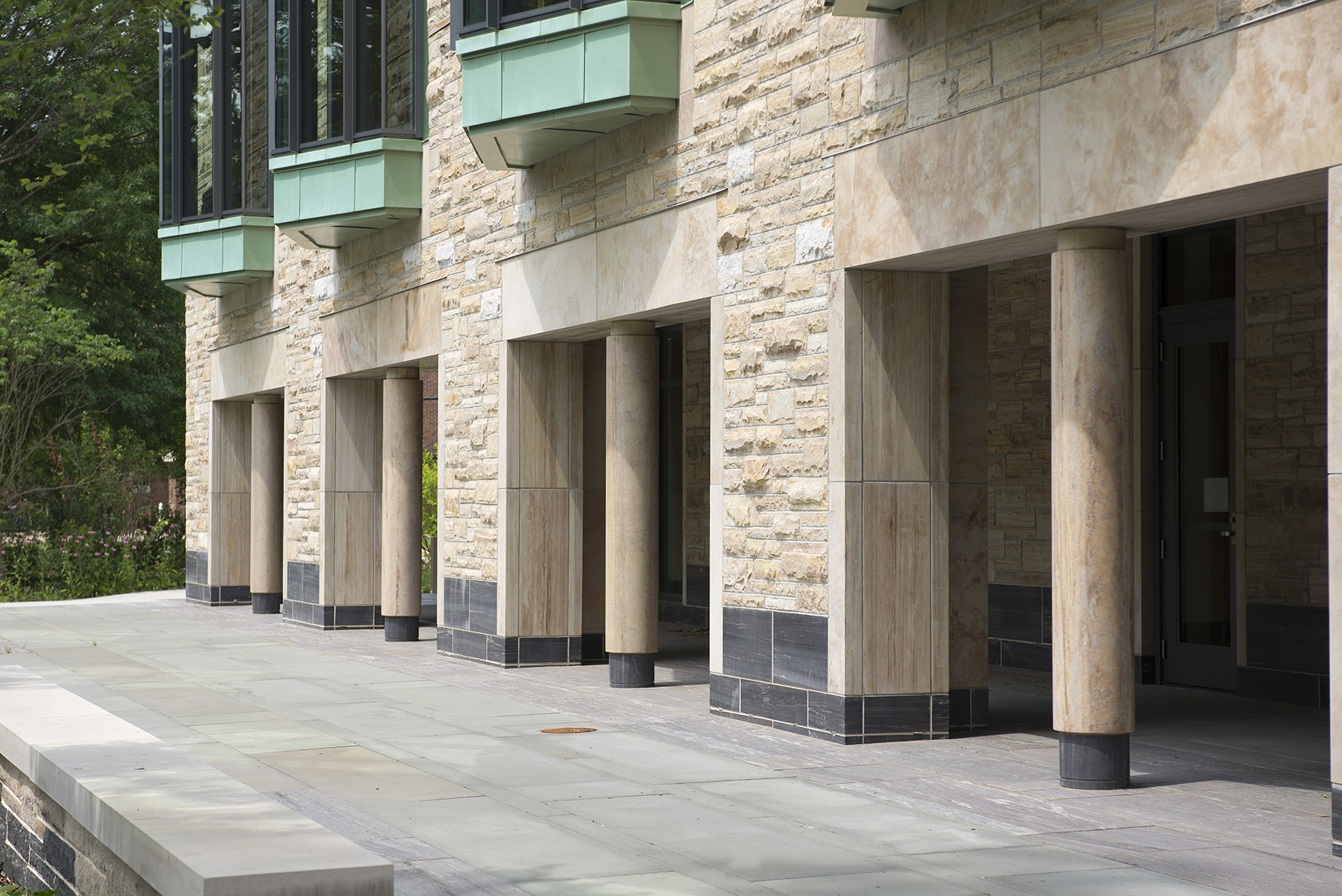 walkway on princeton campus