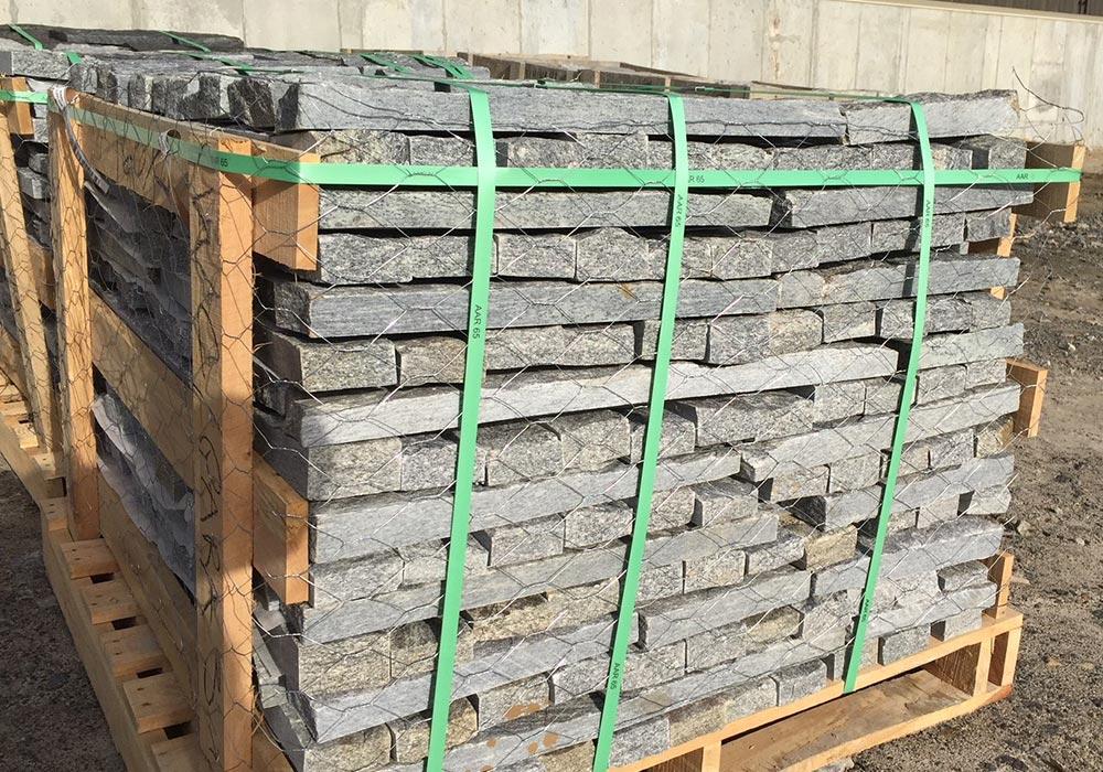 pallet of stone veneer