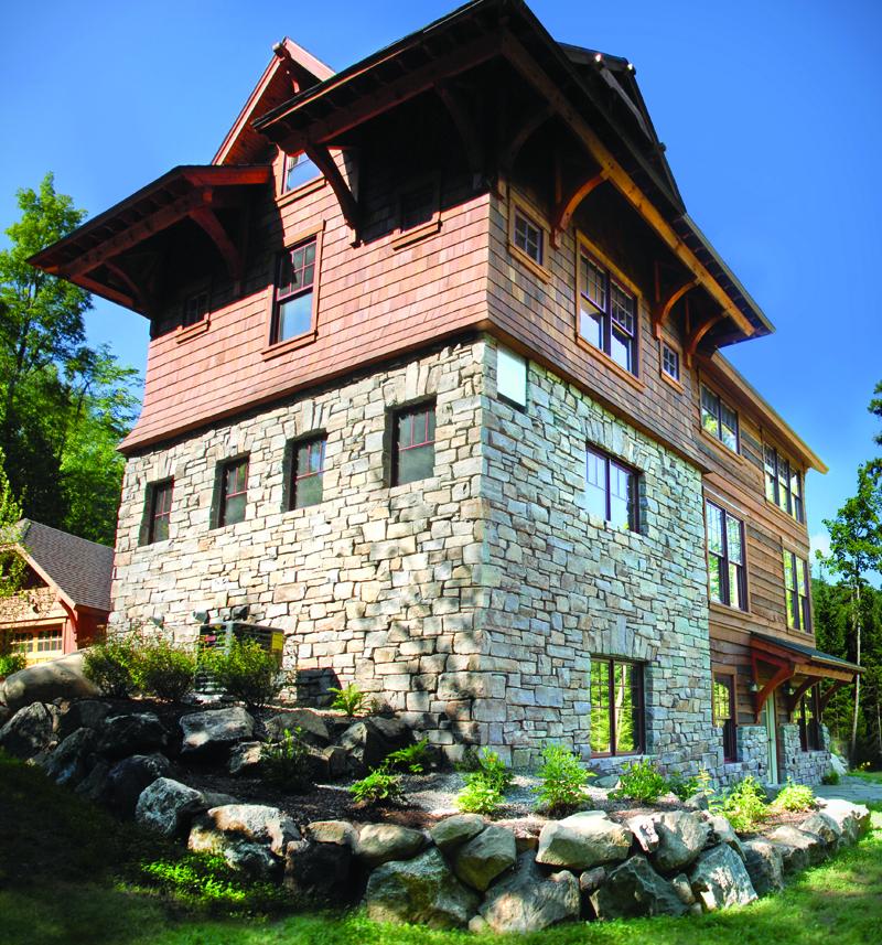 stone building base