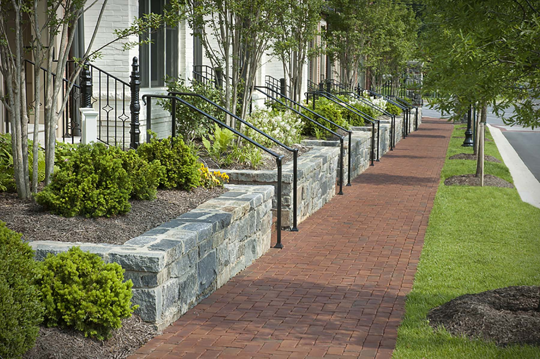 natural stone walls for symphony park