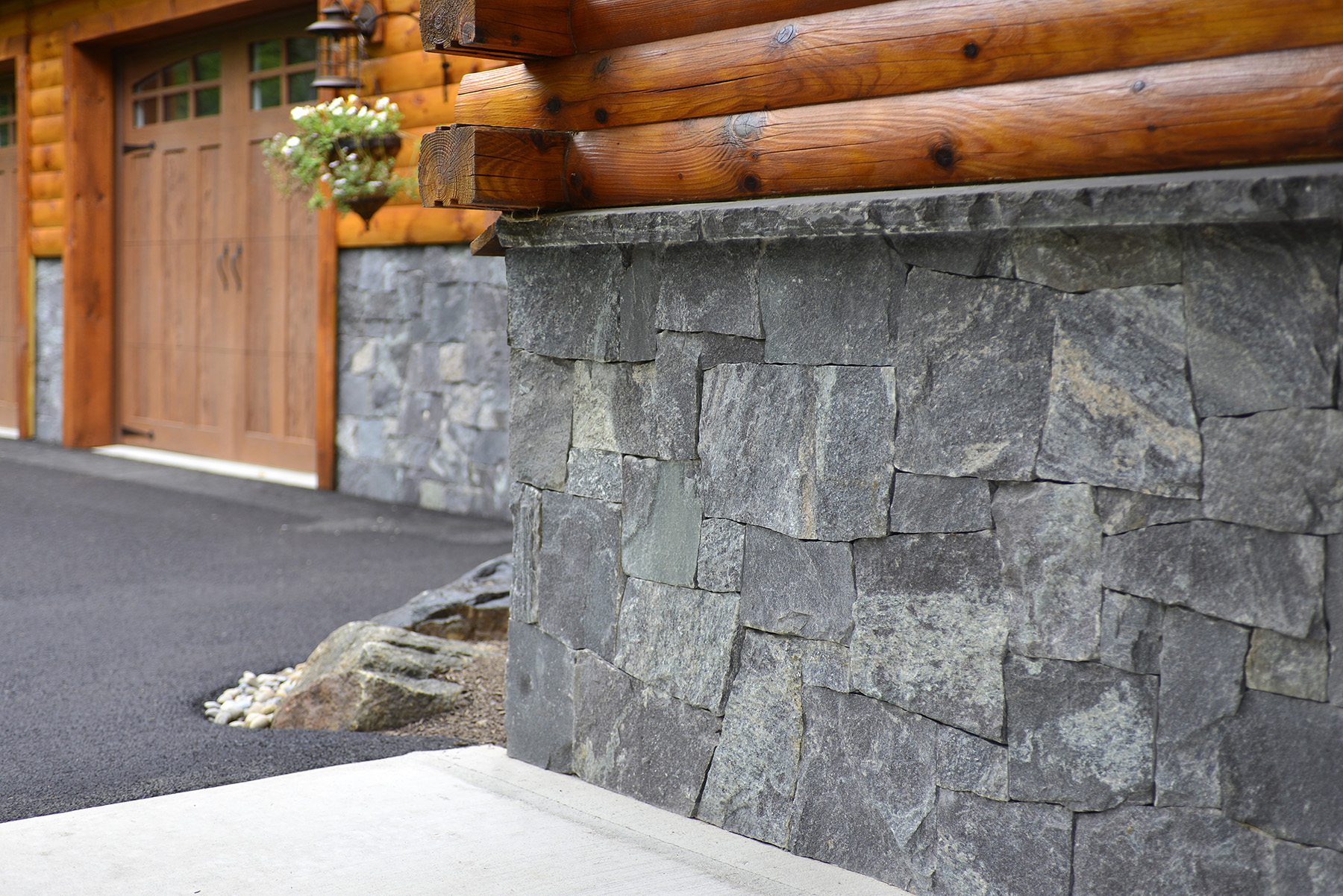 close up on stone wall