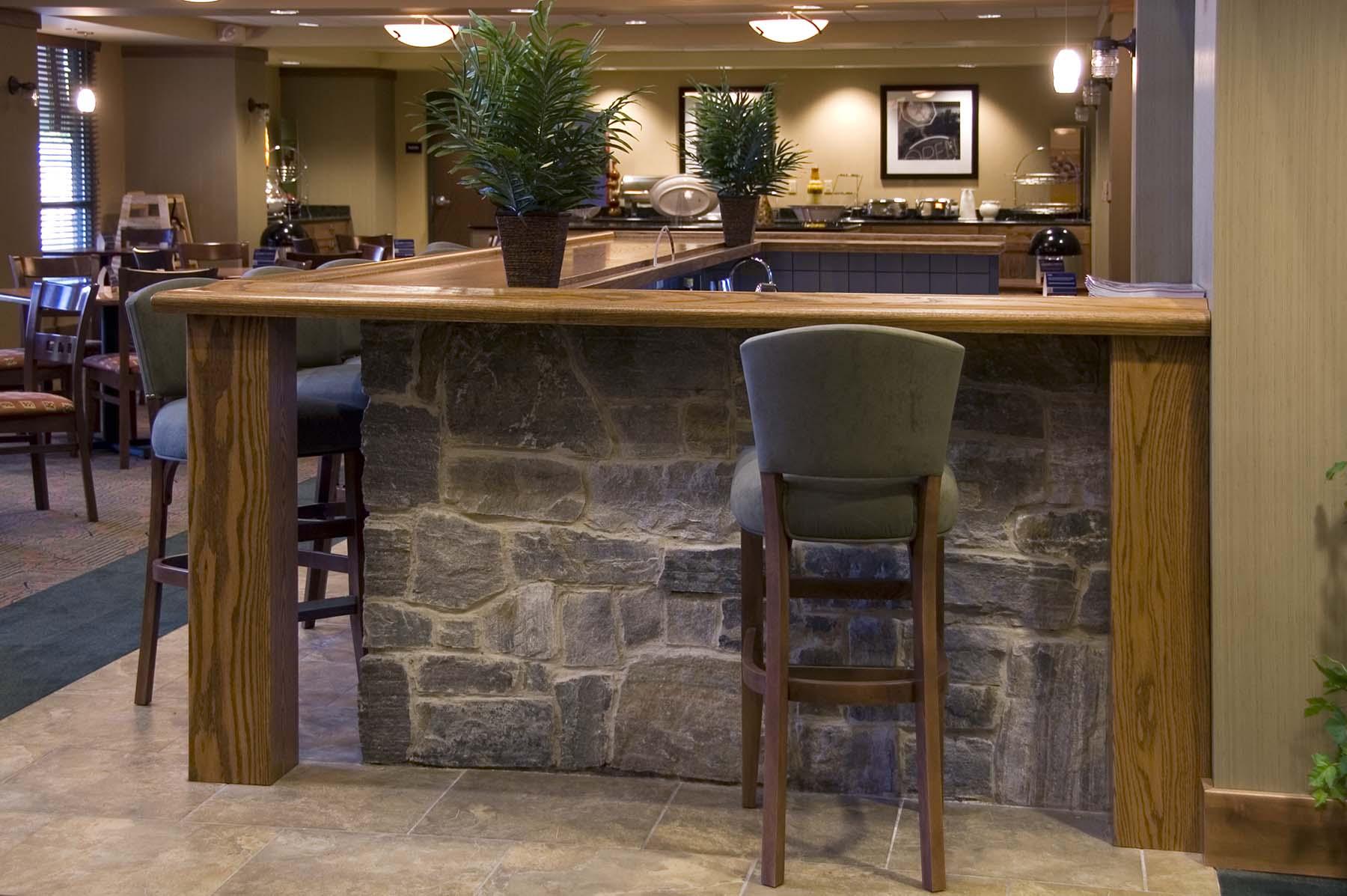 saratoga granite natural stone bar