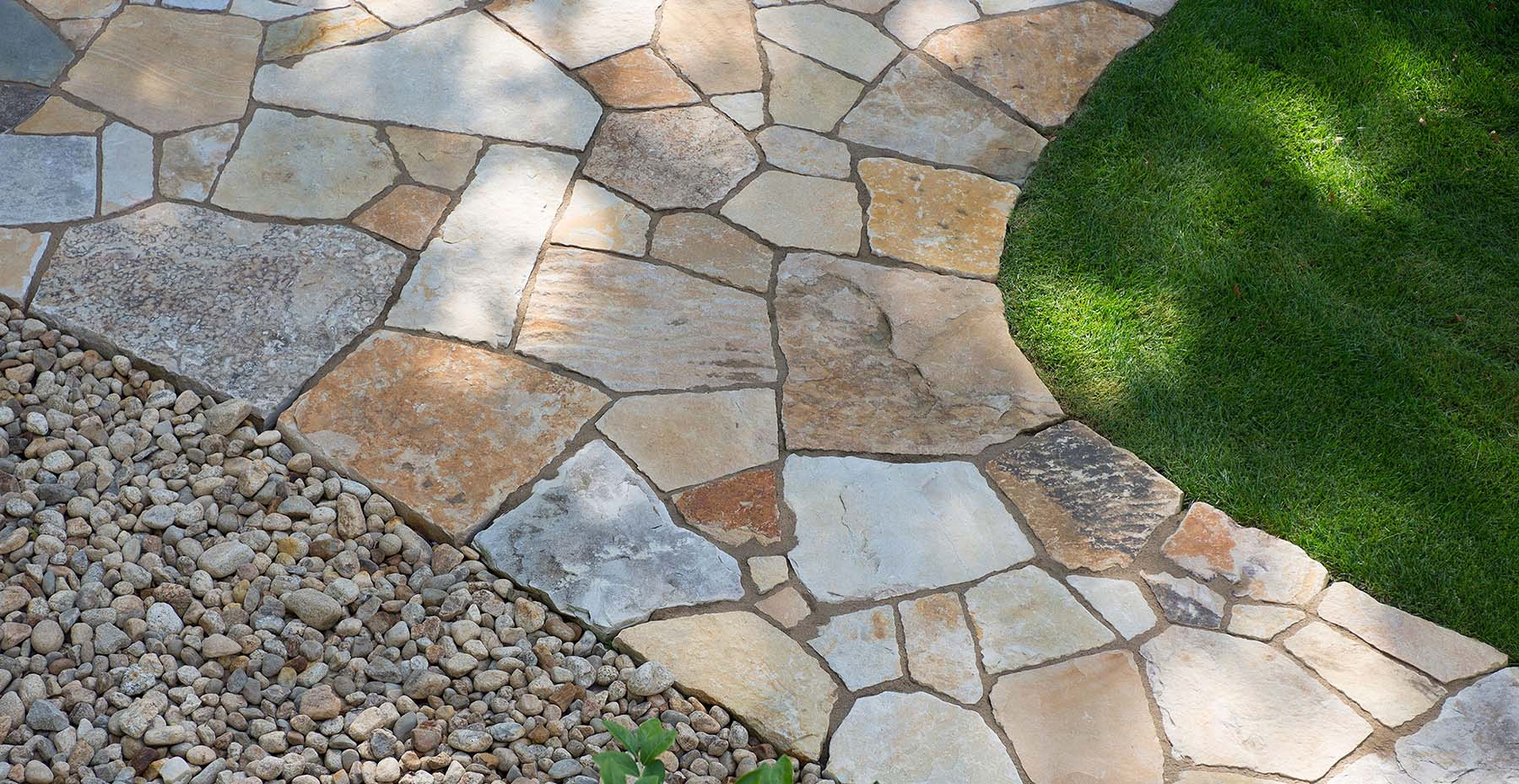 South Bay Quartzite Natural Stone Flagging/ Outdoor Patio