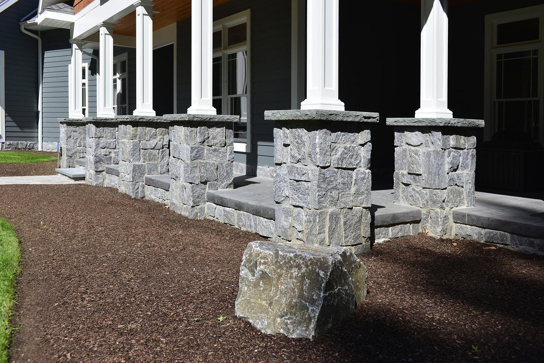 stone column bases