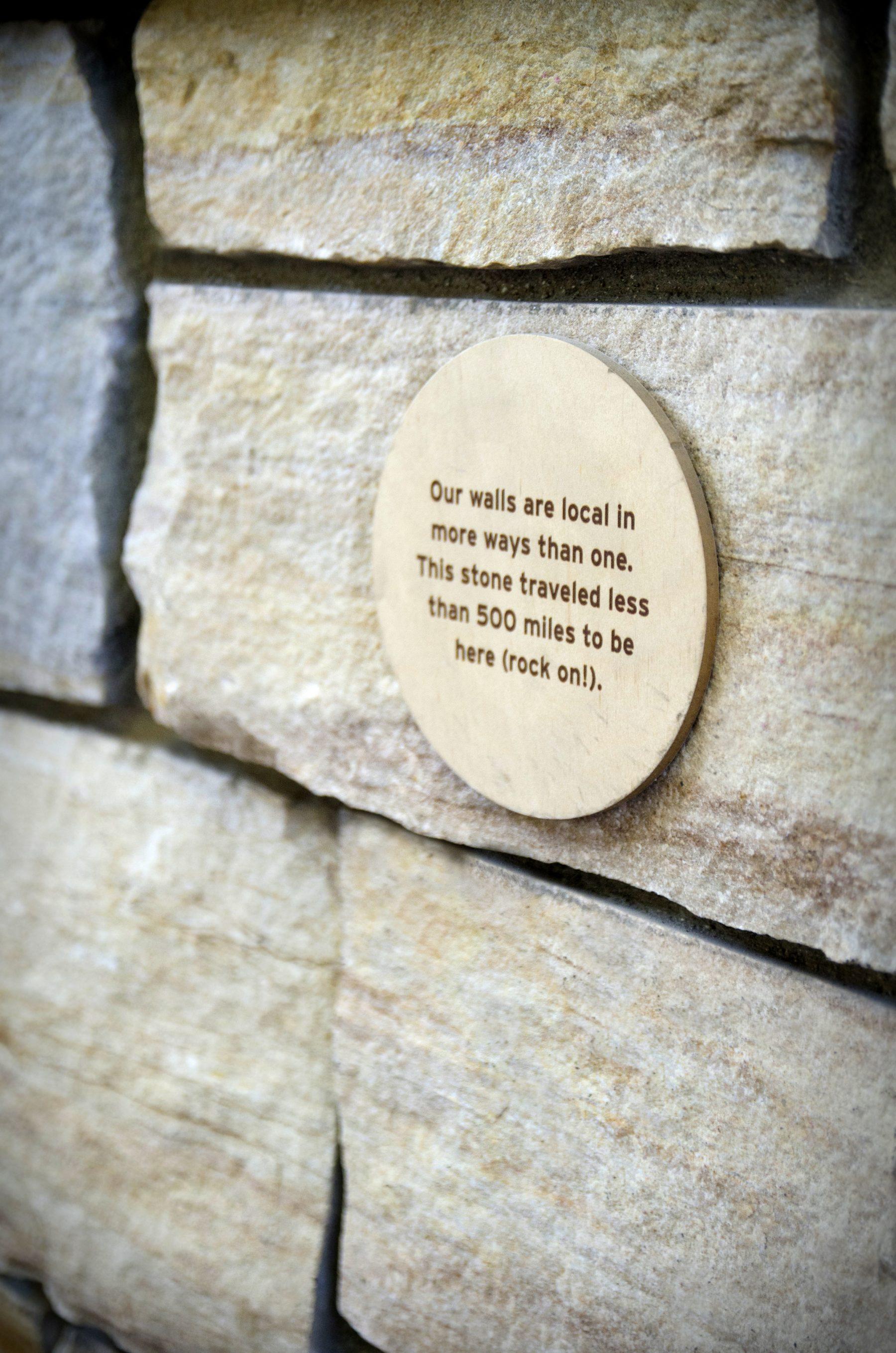 local stone marker