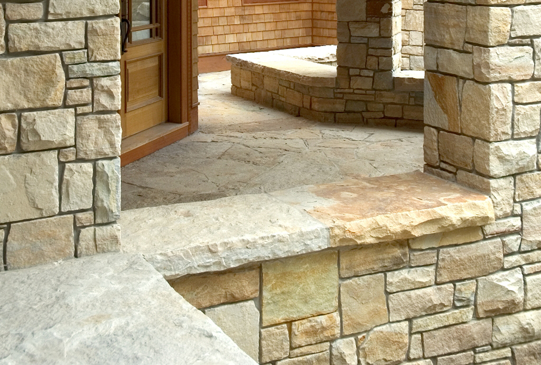 stone window ledge