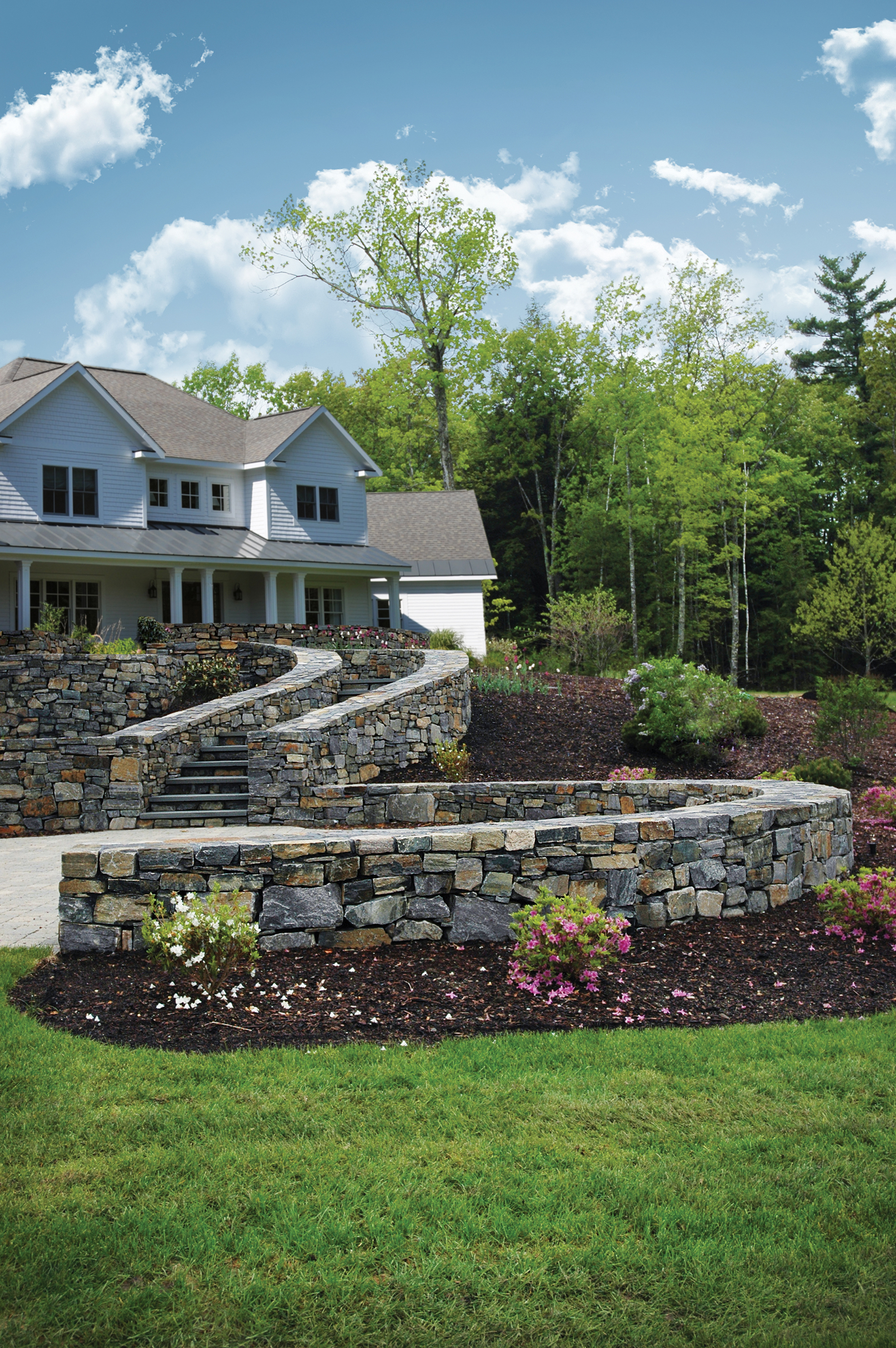 Residential Saratoga Wall Stone