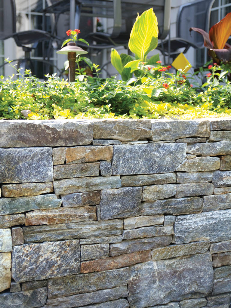 cottage wall stone