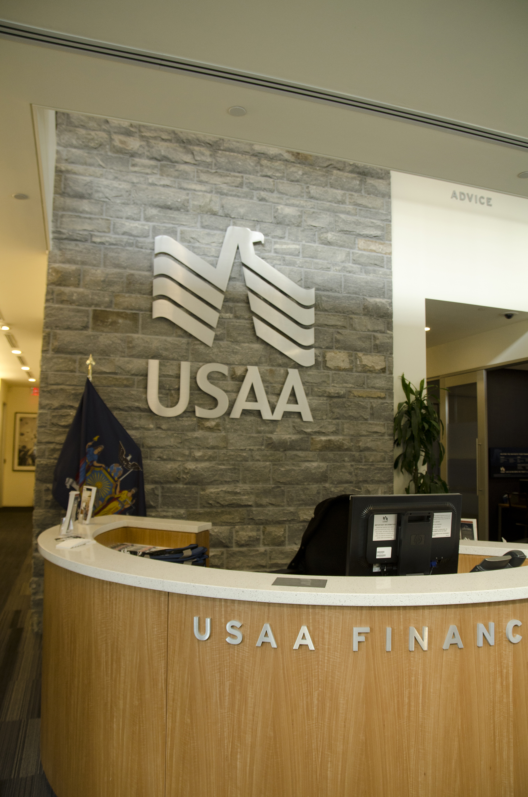 usaa front desk
